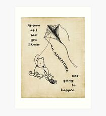 Winnie the Pooh - Adventure Art Print
