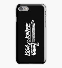 ISSA KNIFE - 21 SAVAGE (white) iPhone Case/Skin