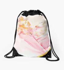 GOLD LEAF Drawstring Bag