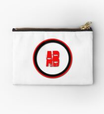 AB- = blood type Studio Pouch