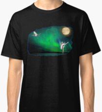 Aurora ballerina in the moon light Classic T-Shirt