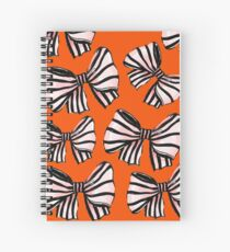 BOWS ON BOWS Spiral Notebook