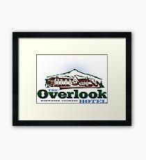 The Overlook Hotel Framed Print