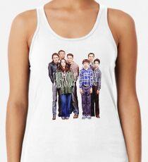 Camiseta con espalda nadadora Raros y nerds
