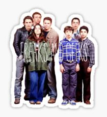 Freaks and Geeks Sticker