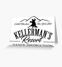 Kellerman Resort Dance Instruction Greeting Card