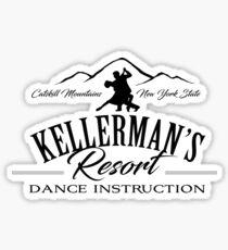 Kellerman Resort Dance Instruction Sticker