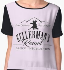 Kellerman Resort Dance Instruction Chiffon Top