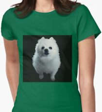 Gabe The Dog Womens Fitted T-Shirt