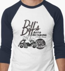 Biffs Auto Detailing Men's Baseball ¾ T-Shirt