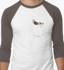 There is a Mogwai in my pocket Men's Baseball ¾ T-Shirt