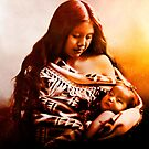 MOTHER AND CHILD 2 by Tammera