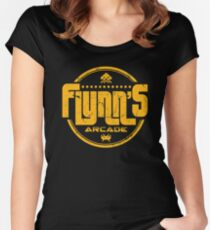 Flynns Arcade Women's Fitted Scoop T-Shirt