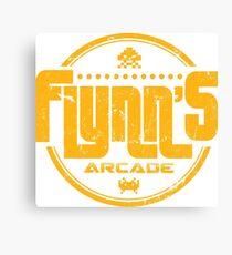 Flynns Arcade Canvas Print