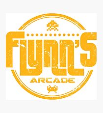 Flynns Arcade Photographic Print