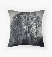 Enchanting Trees Throw Pillow
