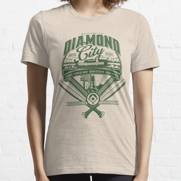 Diamond City Camiseta esencial