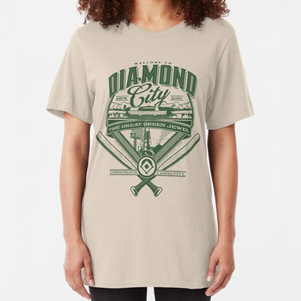 Diamond City  Slim Fit T-Shirt