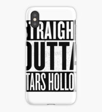 Straight Outta Stars Hollow iPhone Case