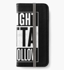 Straight Outta Stars Hollow iPhone Wallet/Case/Skin