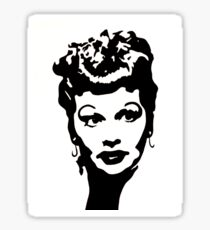 Lucille Ball (Ink) Sticker