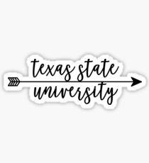 Texas State University Sticker