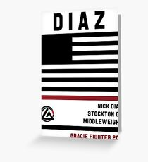 Nick Diaz - Fight Camp Collection Greeting Card