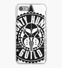 Bounty Hunters Guild iPhone Case/Skin