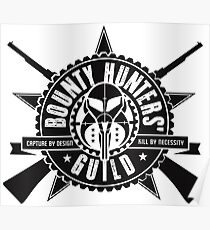 Bounty Hunters Guild Poster