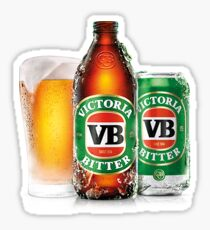 VB Victorian Bitter Sticker