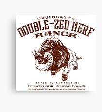 Davengatts Double-Zed Nerf Ranch Canvas Print