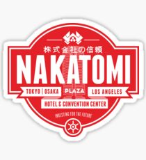 Nakatomi Plaza Sticker