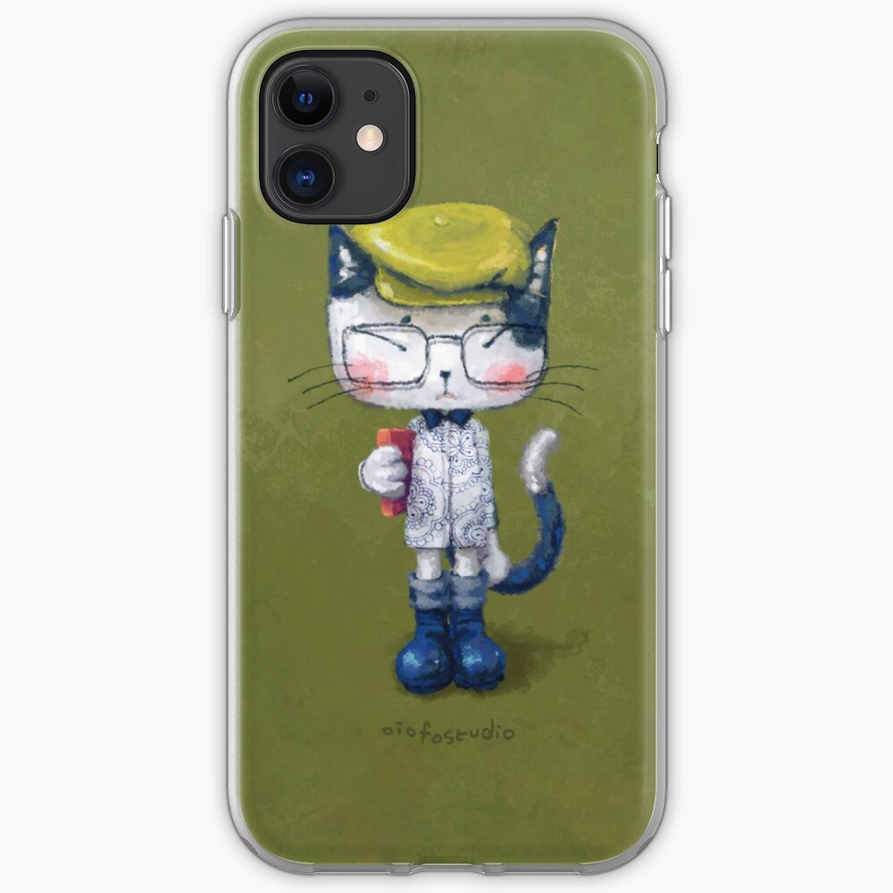 Cat Man - Literary Youth 2 iPhone Case & Cover