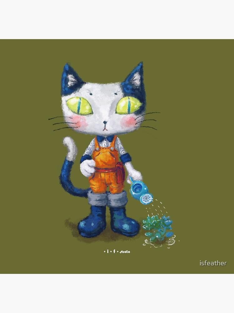 Cat Man - Gardening Sunshine Boy 2 by isfeather