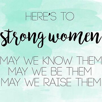 Mujeres fuertes de tffindlay