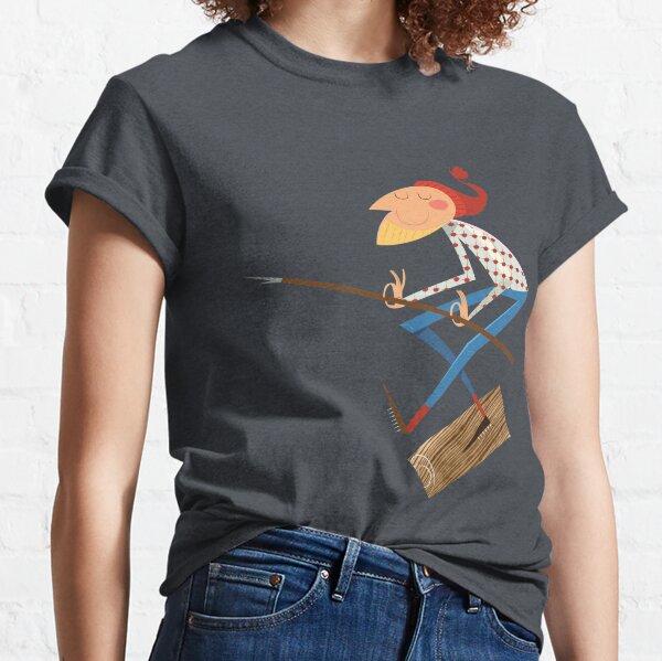 Valse du pilote de journal T-shirt classique