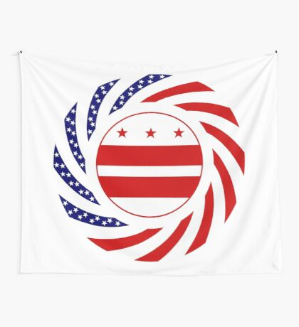 DC Murican Patriot Flag Series Wall Tapestry