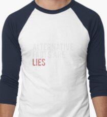 Alternative Facts are Lies | Trump Men's Baseball ¾ T-Shirt