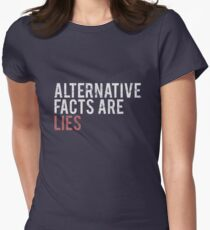 Alternative Facts are Lies | Trump Women's Fitted T-Shirt