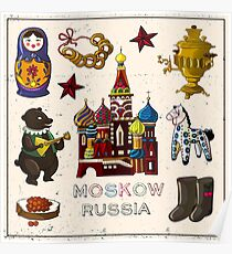 Moskow Russia Poster
