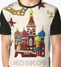 Moskow Russia Graphic T-Shirt