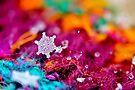Snowflake & Scarf VIII by Kathleen Daley