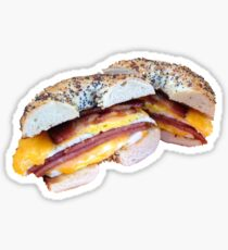 Taylor Ham Jersey Bagel Sticker