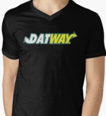Datway Men's V-Neck T-Shirt