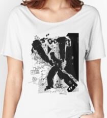 Awesome Freedom Graffiti T-Shirt Women's Relaxed Fit T-Shirt