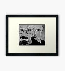 Breaking bad art Framed Print