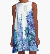 Duke Chapel- Duke University A-Line Dress