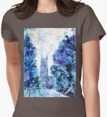 Duke Chapel- Duke University Women's Fitted T-Shirt