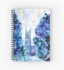 Duke Chapel- Duke University Spiral Notebook