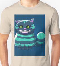 blue Cheshire Cat Unisex T-Shirt